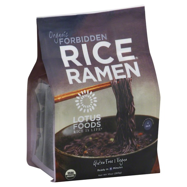 Lotus Foods Organic Rice Ramen Forbidden