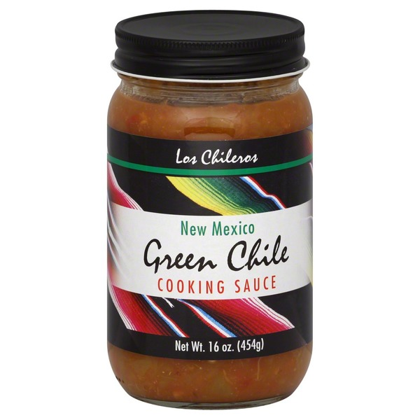 Los Chileros Cooking Sauce, New Mexico Green Chile