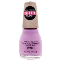 SinfulColors SinfulShine Step 1 Color Nail Color, Pragmatic, 0.5 fl oz