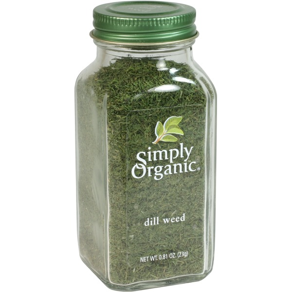 Simply Organic Certified Organic Dill Weed