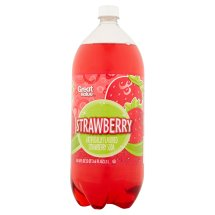 Great Value Strawberry Soda, 2 litres