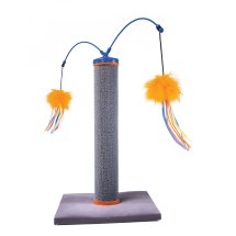 SmartyKat® Scratch 'N Spin™ Carpet Post Cat Scratcher with Wands