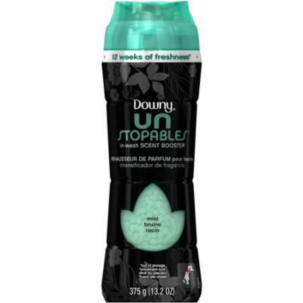 Downy Unstopables Downy Unstopables Mist In-Wash Scent Booster Fabric Enhancer 13.2oz Fabric Enhancers