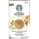 Starbucks VIA White Chocolate Mocha Instant Latte 5 ct Box