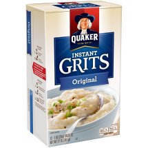 Quaker Instant Grits, Original, 12 Count, 1 oz Packets