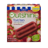 Edy's Outshine Strawberry Fruit Bars