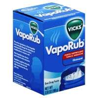 Vicks Vapor Rub Nasal Decongestant And Cough Medicine