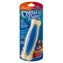 Hartz Chew 'n Clean Bacon-Scented Large Dog Chew Toy