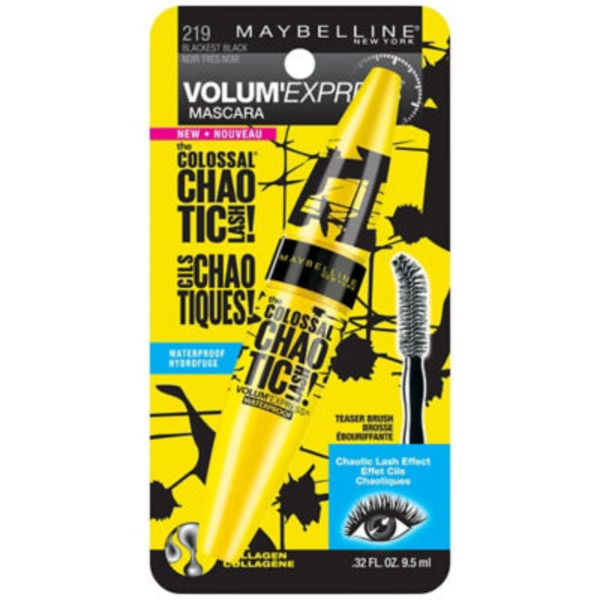 Volum' Express® The Colossal Waterproof Mascara Chaotic Lash