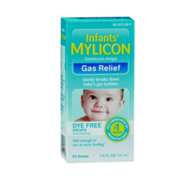 Mylicon Infant Anti‑Gas Drops, Dye Free
