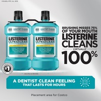 Listerine Ultraclean Coolmint Mouthwash