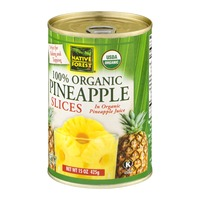 Native Forest 100% Organic Pineapple Slices
