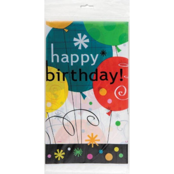 Party Goods Happy Birthday Tablecloth