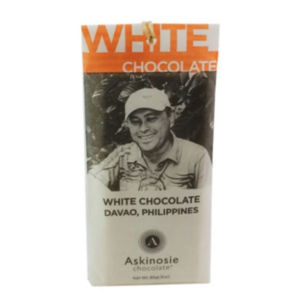 Askinosie Chocolate White Chocolate