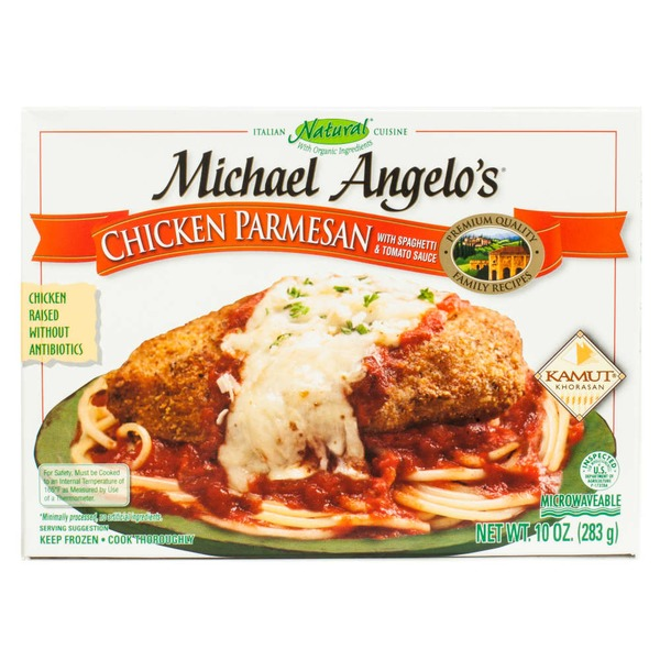Michael Angelo's Chicken Parmesan with Spaghetti & Tomato Sauce Cuisine