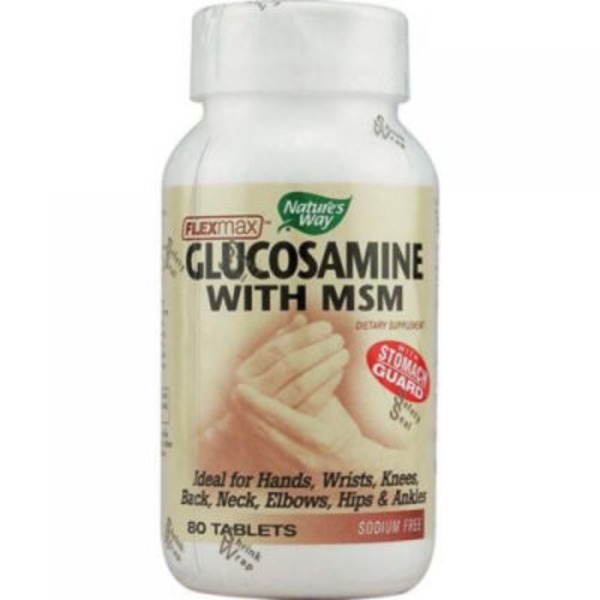 Nature's Way Flex Max Glucosamine With Msm Tablets