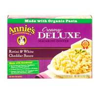 Annie's Homegrown Rotini & White Cheddar Sauce Mac & Cheese Creamy Deluxe Mac & Cheese