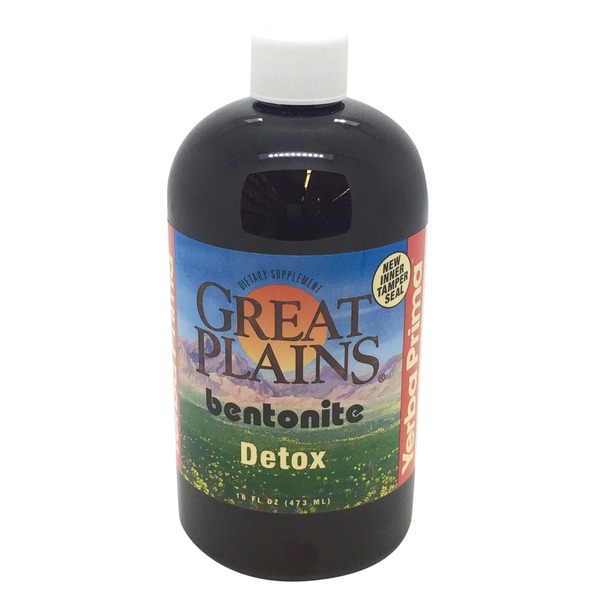 Yerba Prima Great Plains Bentonite Detox