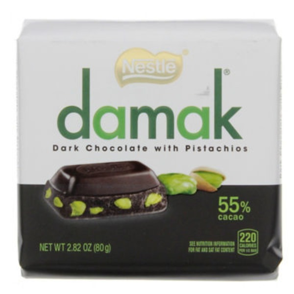 Nestle Damak with Pistachios Dark Chocolate