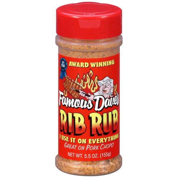 Famous Dave's Rib Rub Seasoning