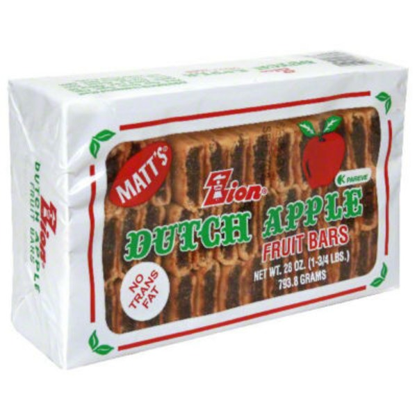 Zion Dutch Apple Bars