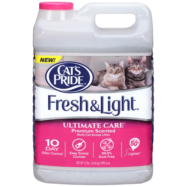 Cat's Pride Fresh & Light Ultimate Care Premium Scented Multi-Cat Scoop Litter