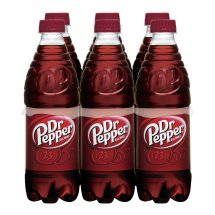 Dr Pepper, 0.5 L, 6 pack