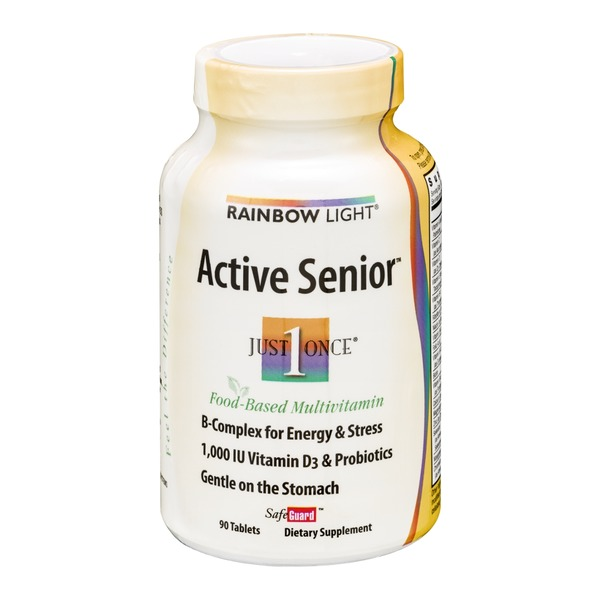 Rainbow Light Active Senior Tablets - 90 CT