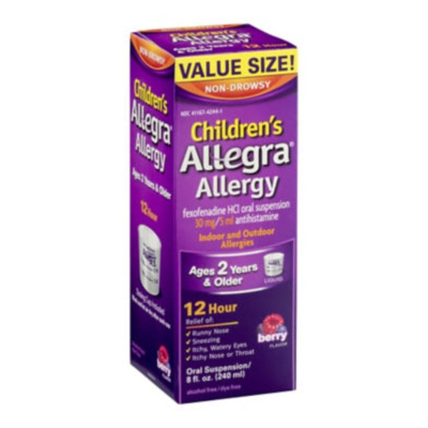 Children's Allegra Allergy 12 Hour Berry