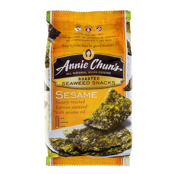 Annie Chuns Roasted Sesame Seaweed Snacks