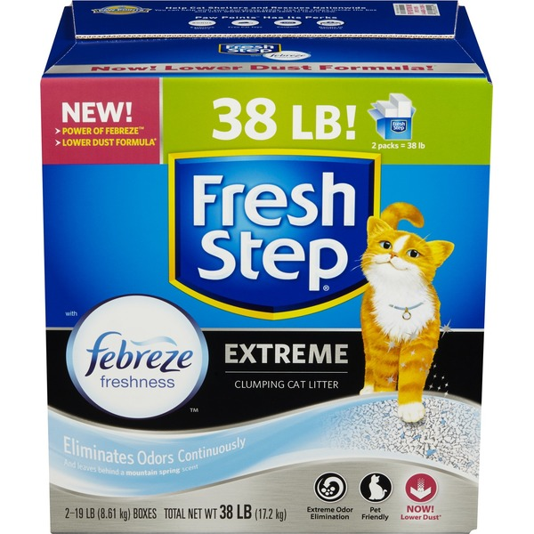 Fresh Step Extreme Scented Scoopable Cat Litter