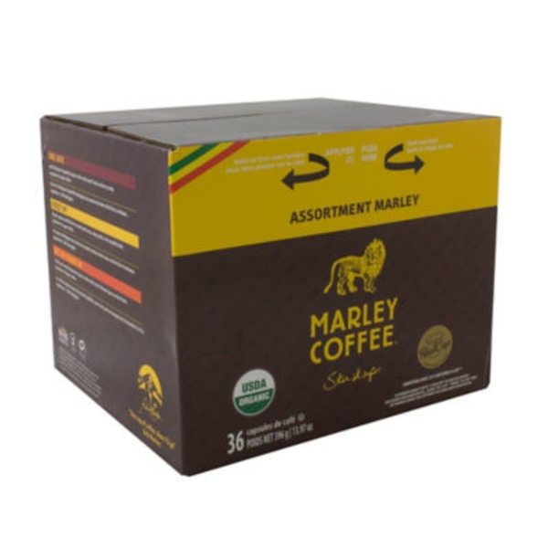 Marley Coffee Realcups Mixer Single Serve
