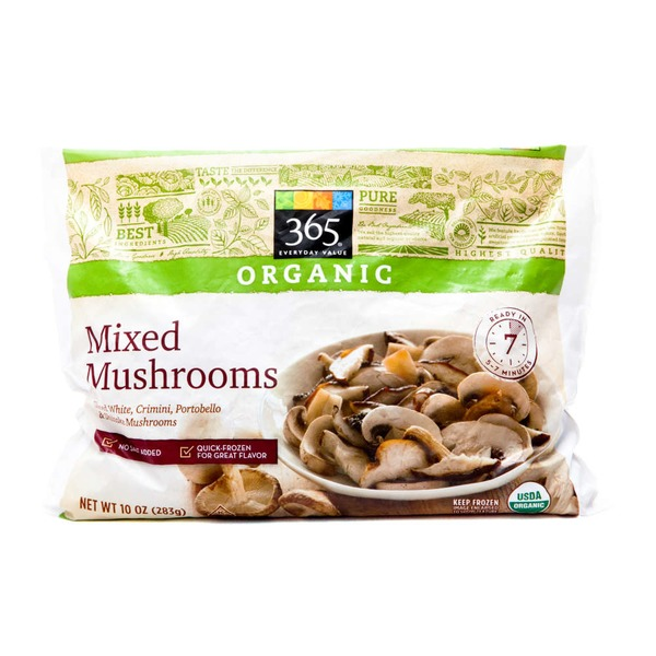 365 Organic Mixed Mushrooms