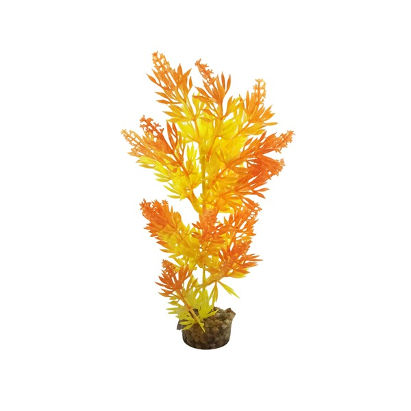 Petco Imagitarium Large Bush Plant Orange Plastic