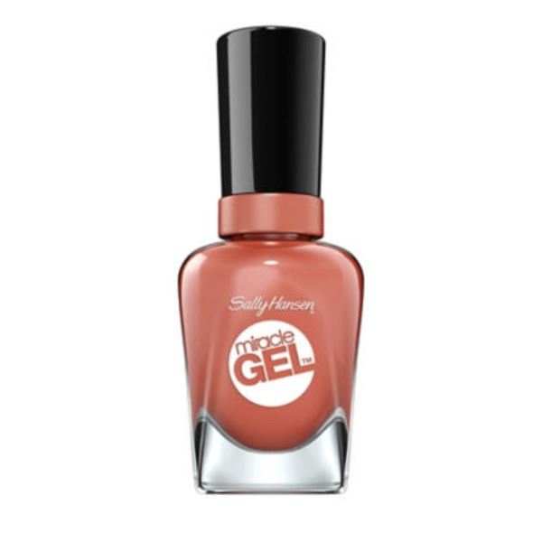 Sally Hansen Miracle Gel Nail Color, 650 Per‑Suede