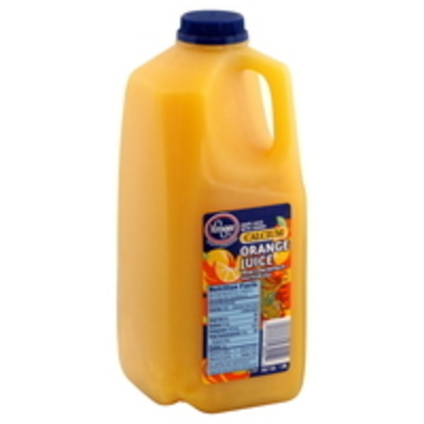 Kroger Orange Juice With Calcium