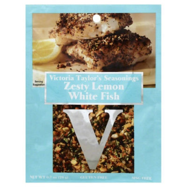 Victoria Taylor's Seasonings Zesty Lemon White Fish Seasoning