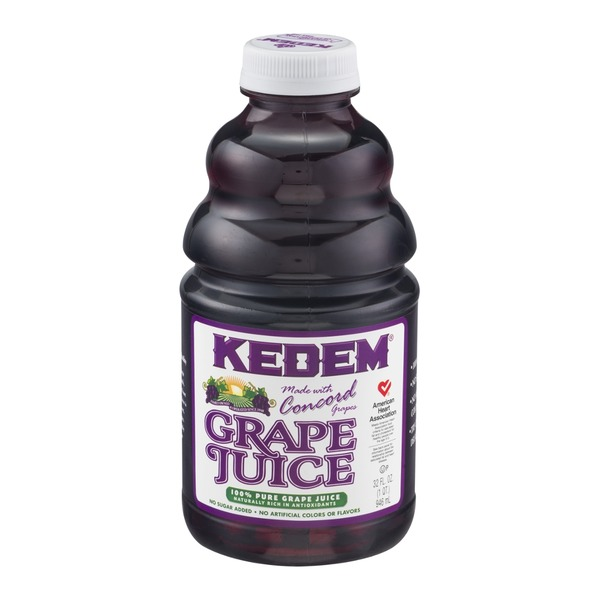 Kedem Grape Juice with No Sugar Added