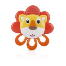 Nuby Vibe-eez Animal Vibrating Teether, Character May Vary