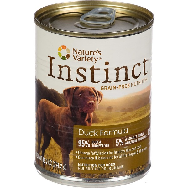 Nature's Variety Dog Food, Duck Formula