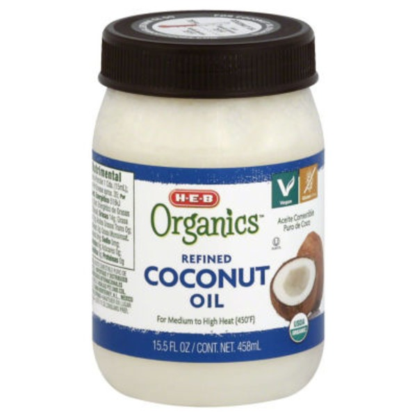 H-E-B Refined Coconut Oil