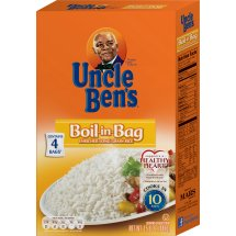 Uncle Ben's Boil-In-Bag Enriched Long Grain Rice, 15.8 oz