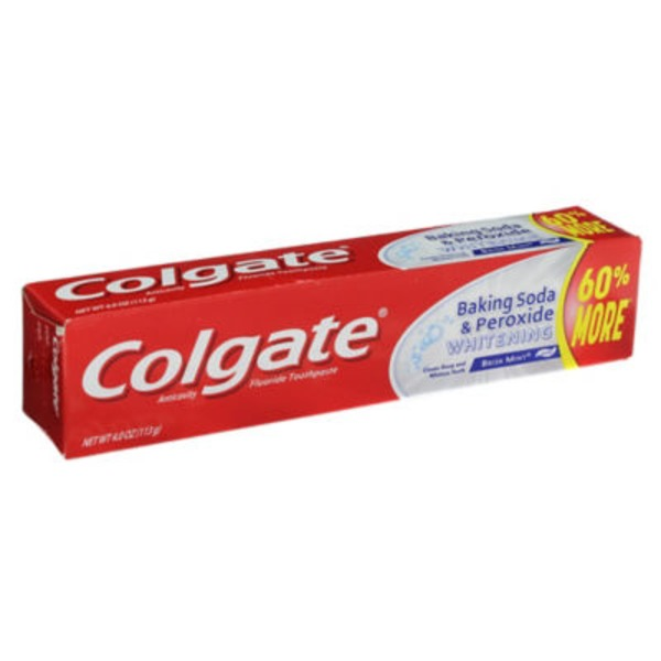 Colgate Peroxide Whitening Toothpaste