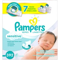 Pampers Sensitive Pampers Baby Wipes Sensitive 7X 392 count  Baby Wipes