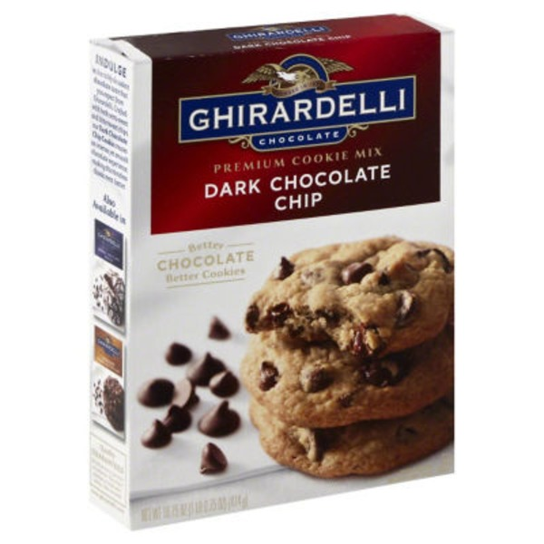Ghirardelli Chocolate Dark Chocolate Chip Cookie Mix