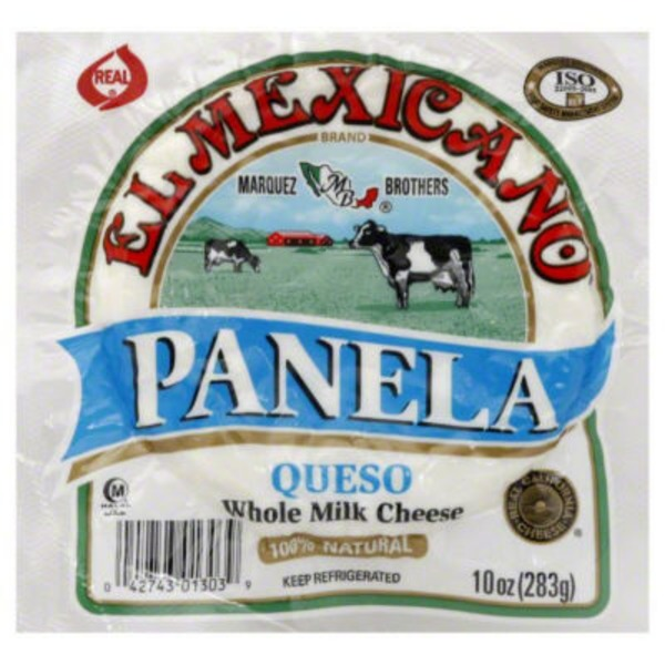 El Cazo Mexicano Panela Queso Whole Milk Cheese