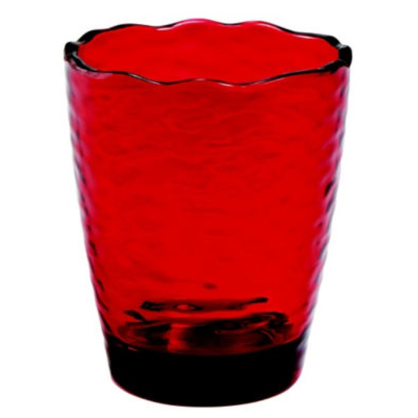 Cocinaware Double Old Fashion Tumbler, Red