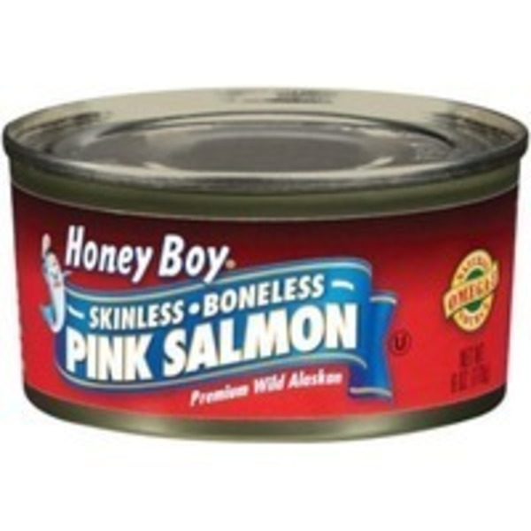 Honey Boy Skinless Boneless Pink Salmon