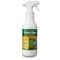 NaturVet Potty Here Outdoor & Indoor Dog Training Aid 32 Fl. Oz.