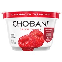 Chobani Raspberry on the Bottom Non-Fat Greek Yogurt